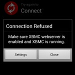 Official XBMC Remoteを使ってみた